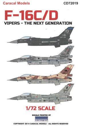 F-16 models on