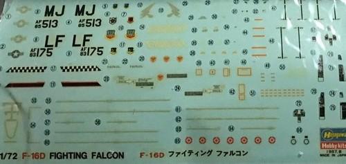 F-16 models