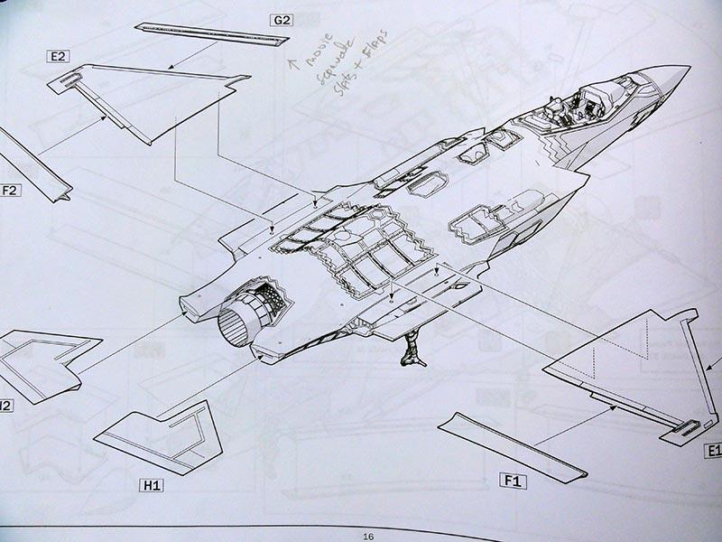 F-35A JSF in 1/32 scale ITALERI