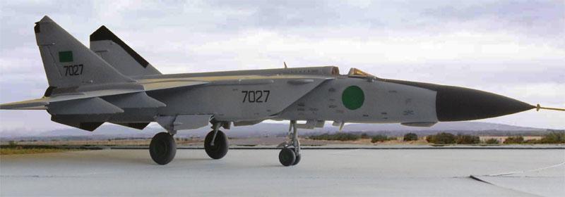Scale Model News: INCOMING: TWIN-FIN MiG-25 FOXBAT INTERCEPTOR ...
