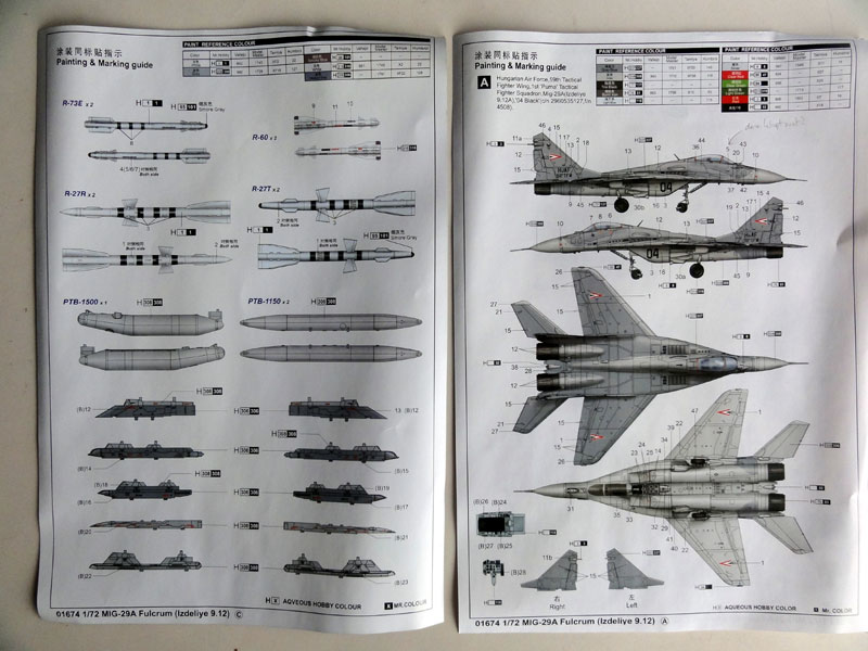 white metal 1//72 MiG-29 Fulcrum Landing Gear for Trumpeter kits