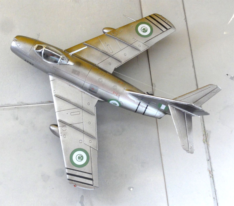 MiG-15 In 1/72 Scale