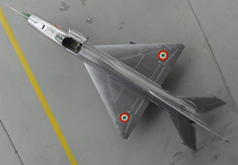 HAL Mig-21 in 1/72 scale