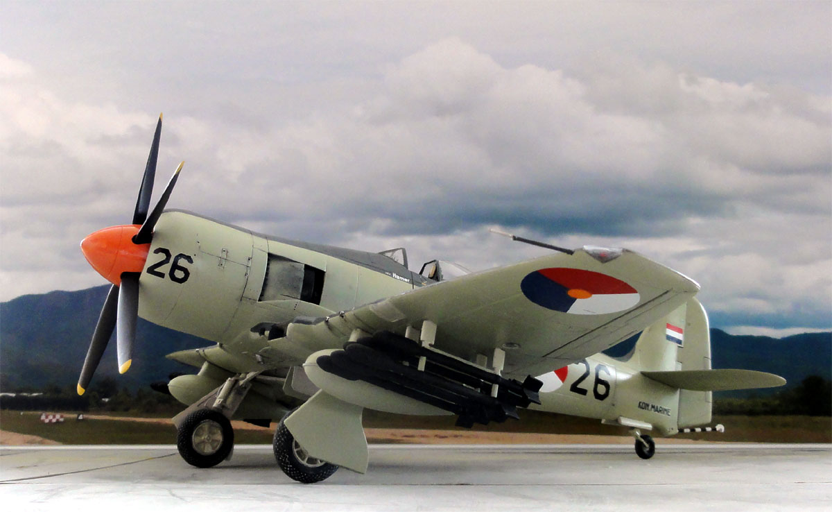 Hawker Seafury In 1 32 Scale