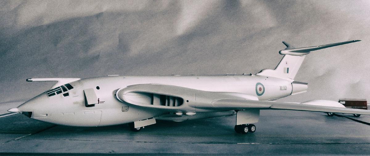 British Victor Bomber Aircraft Model
