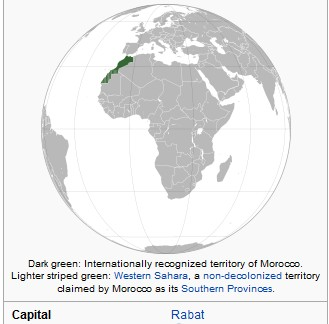 morocco location
